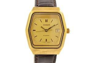 Vintage Tissot Classic Quartz Gold Plated Men's Watch