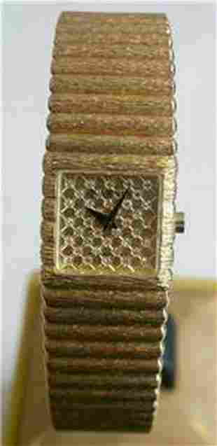 New 18k Gold JUVENIA Ladies watch with 0.25 ct Diamonds