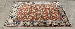 Fine Hand Knotted Agra 6x4 ft