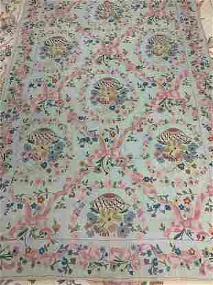 Hand Knotted  Kashmir 8.7x5.5 ft