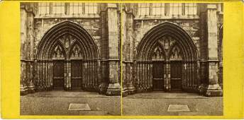 1860 GLASGOW CATHEDRAL BY ARCHIBALD BURNS
