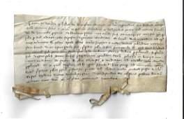 1301 Vellum Medieval Manuscript Leuven