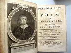 1750 Leather Paradise Lost Milton Engravings