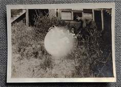 Early Vernacular Light Ball Ghostly Exposure