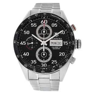 Men's Tag Heuer Carrera Monaco CV2A10 Steel Chronograph