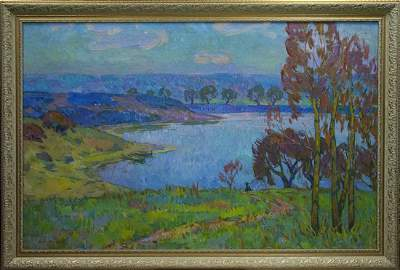 Oil painting Landscape Chegodar Vasily Dmitrievich