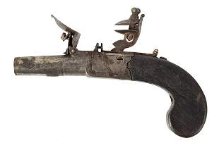 Boxlock Boot Pistol, Flintlock by Thomas Styan,