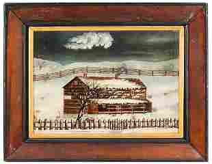 General Meade's Headquarters, Winter Scene