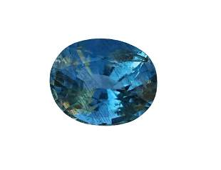 Natural & unheated~Deep Blue Aquamarine Gemstone