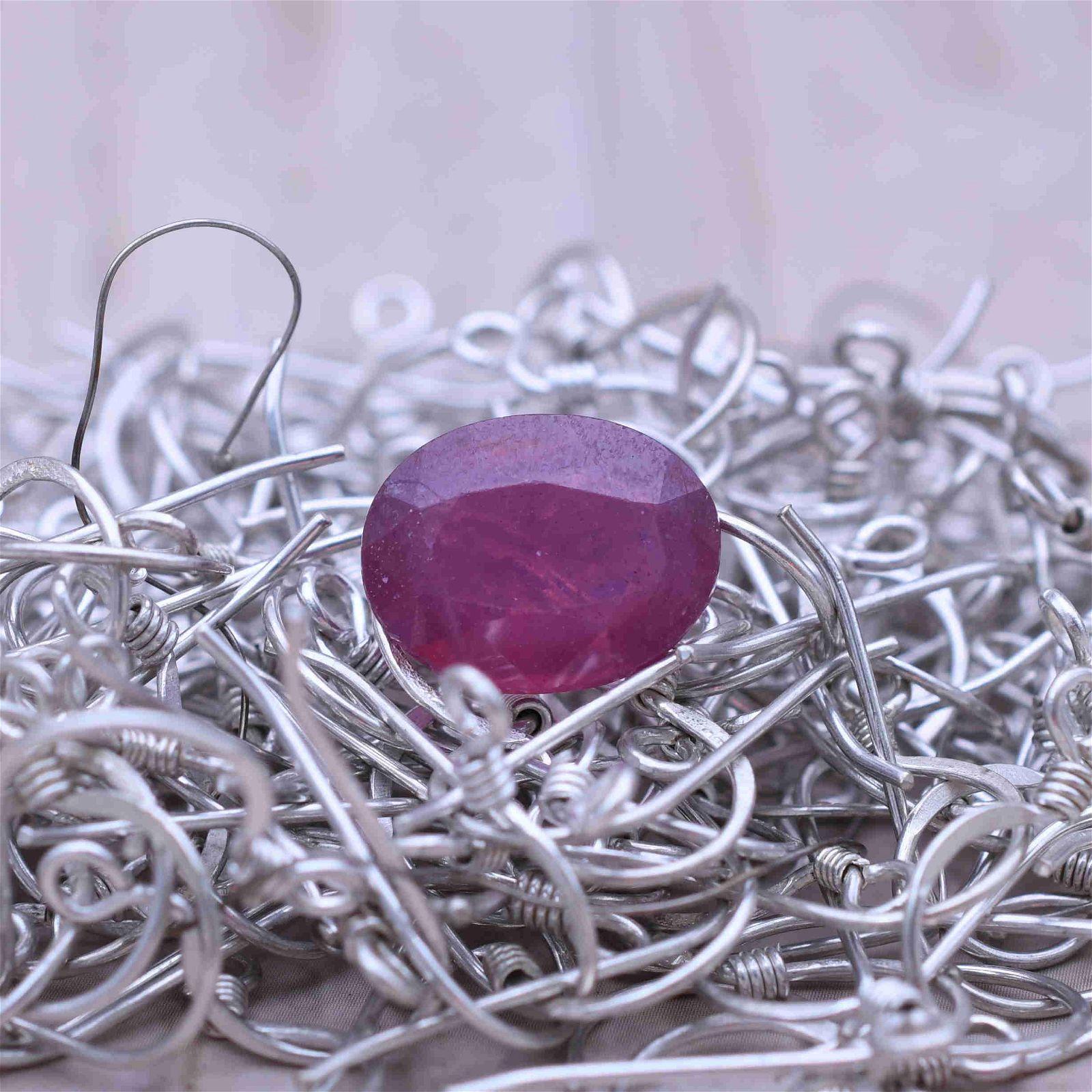 8.12 Ct Natural Certified Burma Ruby Gemstone