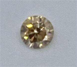 Sparkling Fancy Rare Diamond Brown 0.33Cts