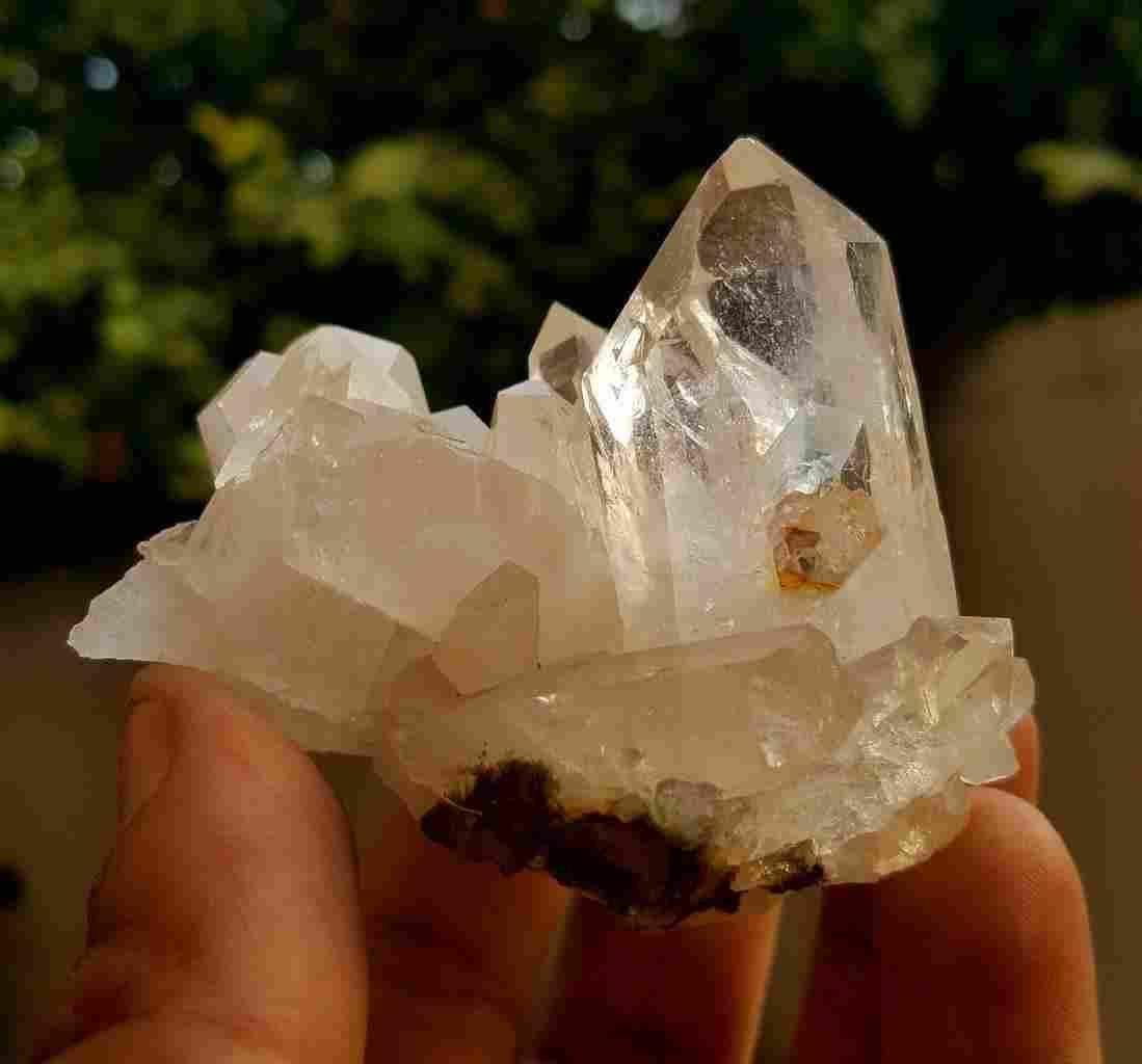 Quality Terminated Quartz Crystals - 123.1 Grams -