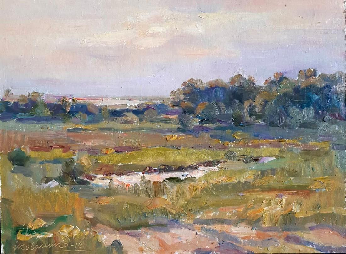 Oil painting Nature Kovalenko Ivan Mikhailovich