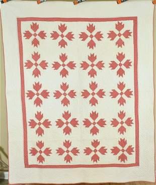 20's Ohio Mennonite Bear Paw Quilt