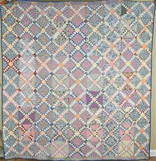 30's Flying Geese / Wild Goose Chase Quilt