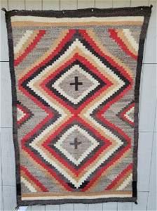 Navajo Ganado rug ca 1920