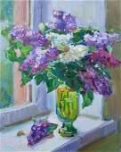 Oil painting Lilac Tepeta Miacheslav