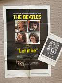 LET IT BE. ALBUM. MOVIE POSTER. PRESS KIT.