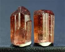 Tourmaline Crystals , 22.80 Carats Diamond Cut