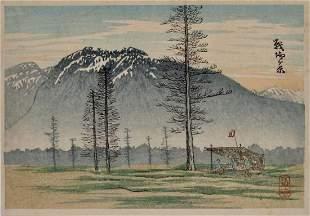 Shôtei: View of Senjogohara