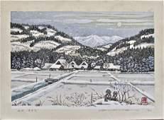 Masao Ido: Snowy Landscape