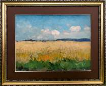 Oil painting Wheat field Tsyupka Ivan Kirillovich