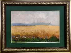 Oil painting Before the rain Tsyupka Ivan Kirillovich