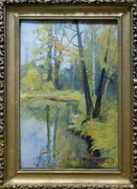 Oil painting Natural landscape Konovalyuk Fedor