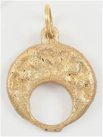 ANCIENT VIKING LUNAR PENDANT C.900-1050 AD