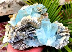 Aquamarine Specimen , Terminated Damage Free Aquamarine