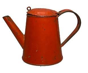 Mini Tin Coffee Pot