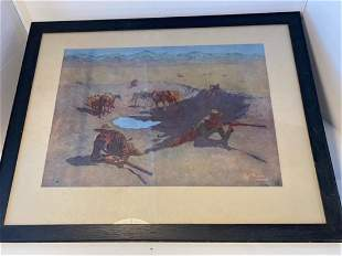 Frederick Remington Artist Proof 1908