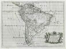 L'America Meridionale. South America. DE ROSSI / SANSON
