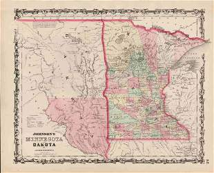 Johnson/Browning Minn. & Dakota, 1861