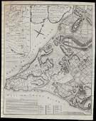 Scarce 1765 Montresor plan of NY City (1855 Valentine's
