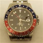 ROLEX GMT BLUE AND RED PEPSI