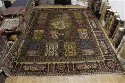 Antique Palace Sized 14x16 Tabriz Persian Area Rug