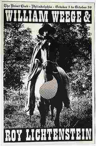 Roy Lichtenstein and William Weege: Print Club of