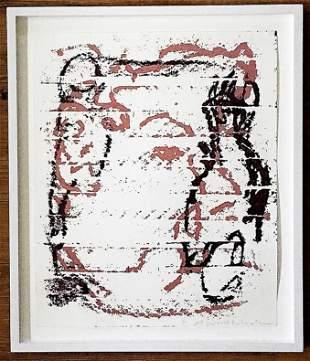 """Joshua Smith and Sophie von Hellermann-""""Fish Face"""" 2005"""