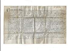 1560 Dutch Vellum Manuscript Legal Document