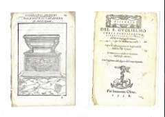 1558 Leaf Roman Antiquities Du Choul