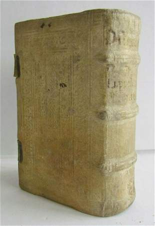 1594 LIVES of SAINTS by Zachariae Lippeloo antique