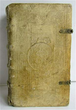 1596 LIVES of SAINTS Zachariae Lippeloo antique