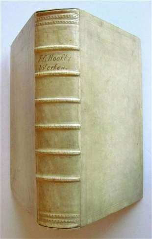 1671 ILLUSTRATED DUTCH POETRY FOLIO VELLUM BOUND