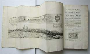 1727 PECK'S HISTORY OF STANFORD ENGLAND ILLUSTRATED