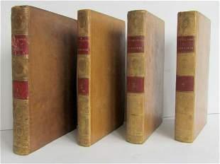 1796 SET of 4 HISTORY of REVOLUTIONS in ROMAN REPUBLIC