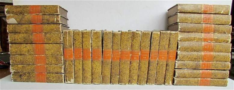 1782 29 volumes JEAN-JACQUES ROUSSEAU 18th century