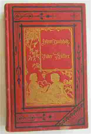 1890s GERMAN IULLUSTRATED BOOK by FRANZ HOFFMANN