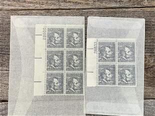 4 Cent Lincoln Scott # 1282 Plate Block Set 2