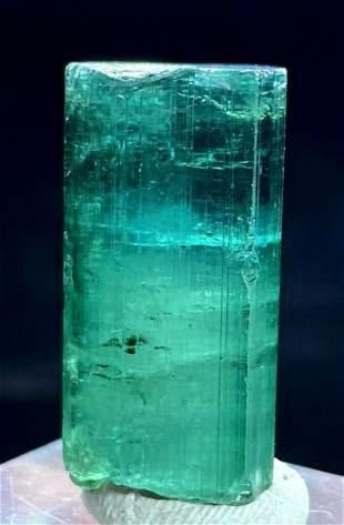 Blue Tourmaline Crystal , Blue Green Tourmaline ,